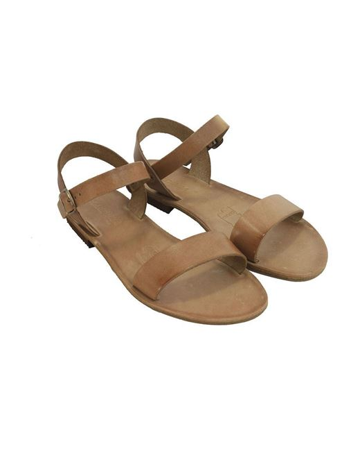 Sandalo con fascia donna